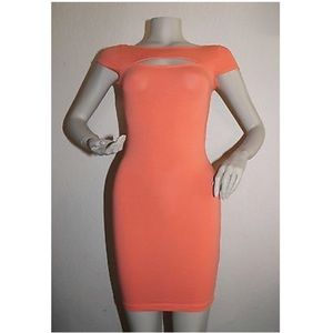 Guess NWT scoop back bodycon dress
